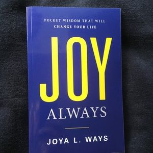 Other - NEW Book: Joy Always